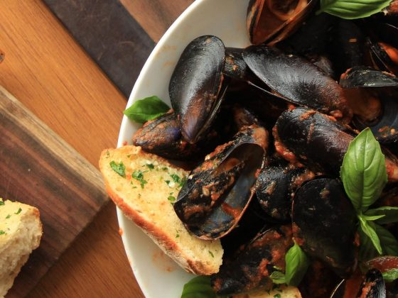 Chilli Mussels - Beef and Beach Byron Bay / Lennox Head